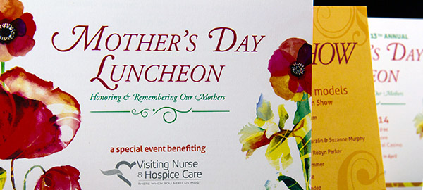 Mother's Day Luncheon Invites