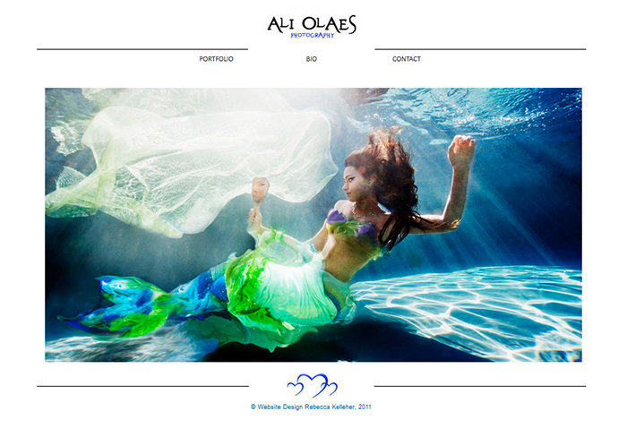Ali Olaes Landing Page